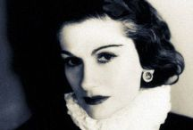 """Chanel -- The House that Coco Built / Gabrielle """"Coco""""  Chanel (8-19-1883 to 1-10-1971) was a French fashion designer & founder of the Chanel brand.  She was the only fashion designer to appear on Time magazine's list of the 100 most influential people of the 20th century & was known for her lifelong determination, ambition and energy.   She achieved both success as a businesswoman & social prominence.  The """"little black dress"""" is often cited as a Chanel contribution to the fashion lexicon and as and survives to this day."""