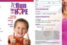 """Gift of Hope 5K ideas / Ideas for THE K-TEAM """"uniform"""" or maybe we should call it the un-uniform! / by Addie Gaines"""