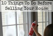 Prepping to Sell your Home / Tips and posts about Preparing a house to sell