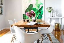 Living with Art / Inspiration for incorporating art into your home