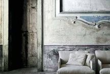 Ancient and modern / Interiors mixing old and new, modern and antique