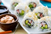 Sushi and seafood