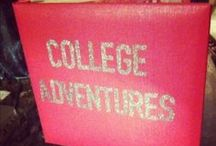 College stuff! / by Samantha