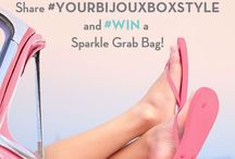 Giveaways! and Reviews - Your Bijoux Box / Thank you for all of the great shout outs from the following bloggers! We heart you guys!