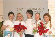 Szkolenia linergistek 2013r.  / Szkolenia linergistek w Centrum Makijazu Permanentnego Magdy Bogulak.