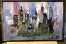 MkArt / Painting Art Abstract
