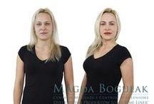 Metamorfoza na Pięknej - Dorota Petkowicz / Dorota wygrała konkurs i wykonała makijaz permanentny ust, oczu i brwi. Zobaczcie jak się zmieniła!