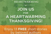 Heartwarming Thanksgiving / Join us at www.harlequin.com/AHeartwarmingThanksgiving during the month of November 2015 to enjoy 13 FREE short stories from the Harlequin Heartwarming authors! Plus, ALL Heartwarming books are $1 off all month long! Enter code HEART1115 at checkout at www.harlequin.com