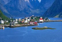 Norge And Norway