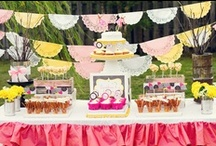 birtday inspirations / I am planning an outdoor / picnick party for my 3-years old daughter :)