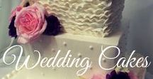 Wedding Cakes / Glamorous and Gorgeous Wedding Cakes to go with any theme, color and type of Wedding.