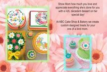Mother's day cakes / Mother's Day Ideas from ABC Cake Shop