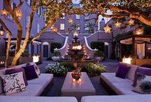 Décoration d'extérieurs  / Décoration de jardins, vérandas et terrasses