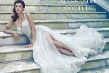 Wedding dress 2014 / #WeddingDress #ElisabettaCanalis #AlessandroAngelozziCouture #WeddingDressCollection