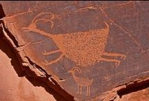 Ancient History / Pots, Petroglyphs, Cliff Dwellings and Fossils offer insights into  our fascinating history.