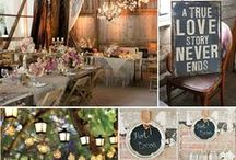Wedding Inspiration by Leanne Curtis / My wedding my way. Bride to be Leanne Curtis shows us her very own wedding inspiration - from rustic woodland centre pieces to kilner tealights and more, view ways to create your very own personal touch here.  / by Leanne Irons