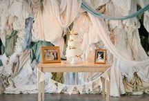Décoration mariage / Tableau d'inspirations décoration mariage