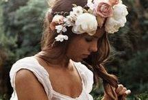 Coiffure mariage / Quelques idées de coiffures classiques ou originales pour le/la marié(e), et les demoiselles d'honneur!