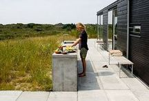 Outdoor kitchen.Nyári konyha.