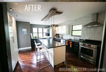Best of Building Modern / A collection of our best blog posts: Renovating our home with a modern style & modern home tours.