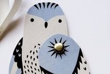Paper Birds / Lovely and exotic birds, all from paper