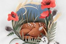 Animals and Insects Made From Paper / Paper creations for all animal lovers!