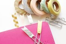 Washi Tape Crafts / Washi and paper tape crafts and creations