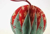 Christmas Ornaments Made From Paper / Create and be inspired by stars, angels, and balls, all made from paper!