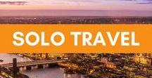 Solo Travel | The Adventure of a Lifetime / Solo travel can be scary, lonely, daunting, and life changing, empowering, satisfying. Here is all you need to know about traveling alone. YOU CAN DO IT.