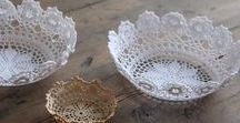 Lacy Ideas for Artisan Lace / Here are some great DIY ideas to use with our handmade lace from India...