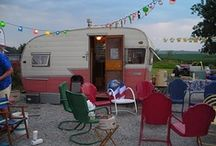 vintage campers / one of my dreams / by Annette