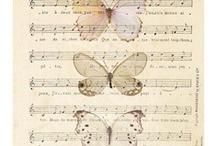 le note de musique 音 / 音、楽譜