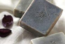 handmade soap, le bleu / 青、蒼、水色