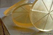 handmade soap,  la transparence