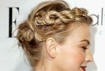 Hair and Makeup Inspiration / Beautiful hair - I love braids…    And natural makeup