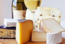 Les fromages de France and cheese / Laissons nous guider par les régions de France et leurs différents fromages. Lets travel in France with their cheese.