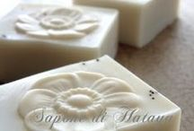 handmade soap, le blanc / 白色