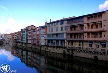 Ville de Castres dans le Tarn France, landscapes of Tarn / Des photos de la ville de Castres en Midi-Pyrénées, France Some landscapes of the city of Castres in the Tarn region of France.