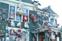 "Homes that make you say ""Hmm...?"" / Outrageous, strange and funny homes."