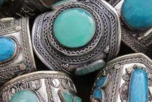 Turquoise / Jewelry bijoux turquoise pierres