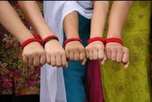 Red Thread Movement / The Red Thread Movement allows girls rescued from sex trafficking in Nepal to create red woven bracelets, providing the girls a living wage, funding the safe house that welcomes them and funding our anti-trafficking border units.  Wearing a red bracelet creates awareness of sex trafficking...  our red thread bracelet idea quickly became a Movement that is still going strong today! Thousands of girls have been rescued and have been given hope for a new life.