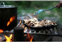 Camp Food / Recipes and cooking ideas