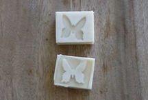 handmade soap, confetti, embed