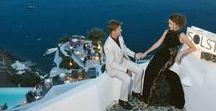 Wedding Anniversary photoshoot in Santorini / #santorinianniversary #weddinginspiration #weddingphotographer #weddingsantorini #sunsetview #санторини #свадьбанасанторини #santorinicaldera #фотографнасанторини #фотографнасвадьбу #weddingingreece #фотографвгреции #love #sunset #photooftheday #chicandstylish #vulkan #bride