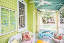 Home Decor / Beautiful living rooms, dining rooms, bedrooms, and outside spaces