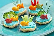 Fun Food Ideas for Kids / Ideas, inspiration and recipes for making food fun for children.  Mainly healthy ideas with the occasional treat thrown in! :-)