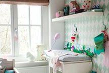 Baby girl / Girly newborn room designs