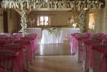 Flloral Garlands / Garlands for Church's, arbours, arches, barn mezzanine's, ceremony gazebos, Marques and many other areas.