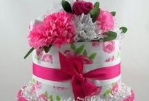 Torta Pañales/ DIAPER / Ideas varias torta pañales/ Diaper cakes / by Mafi Mafalda