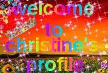 CHRISTINE, THATS MY NAME! / by Christine